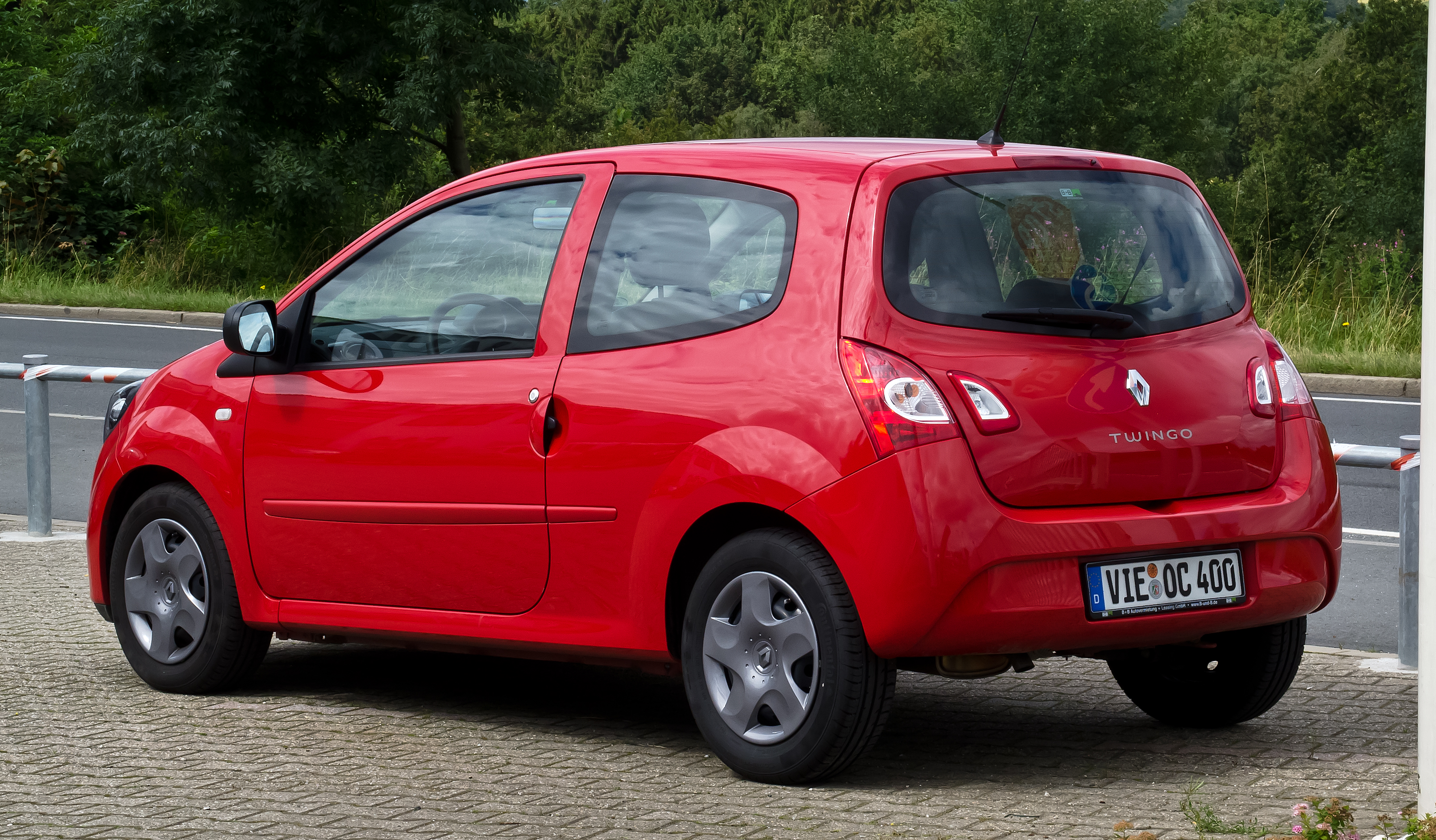 file renault twingo ii facelift heckansicht 21 juli 2012 wikipedia. Black Bedroom Furniture Sets. Home Design Ideas