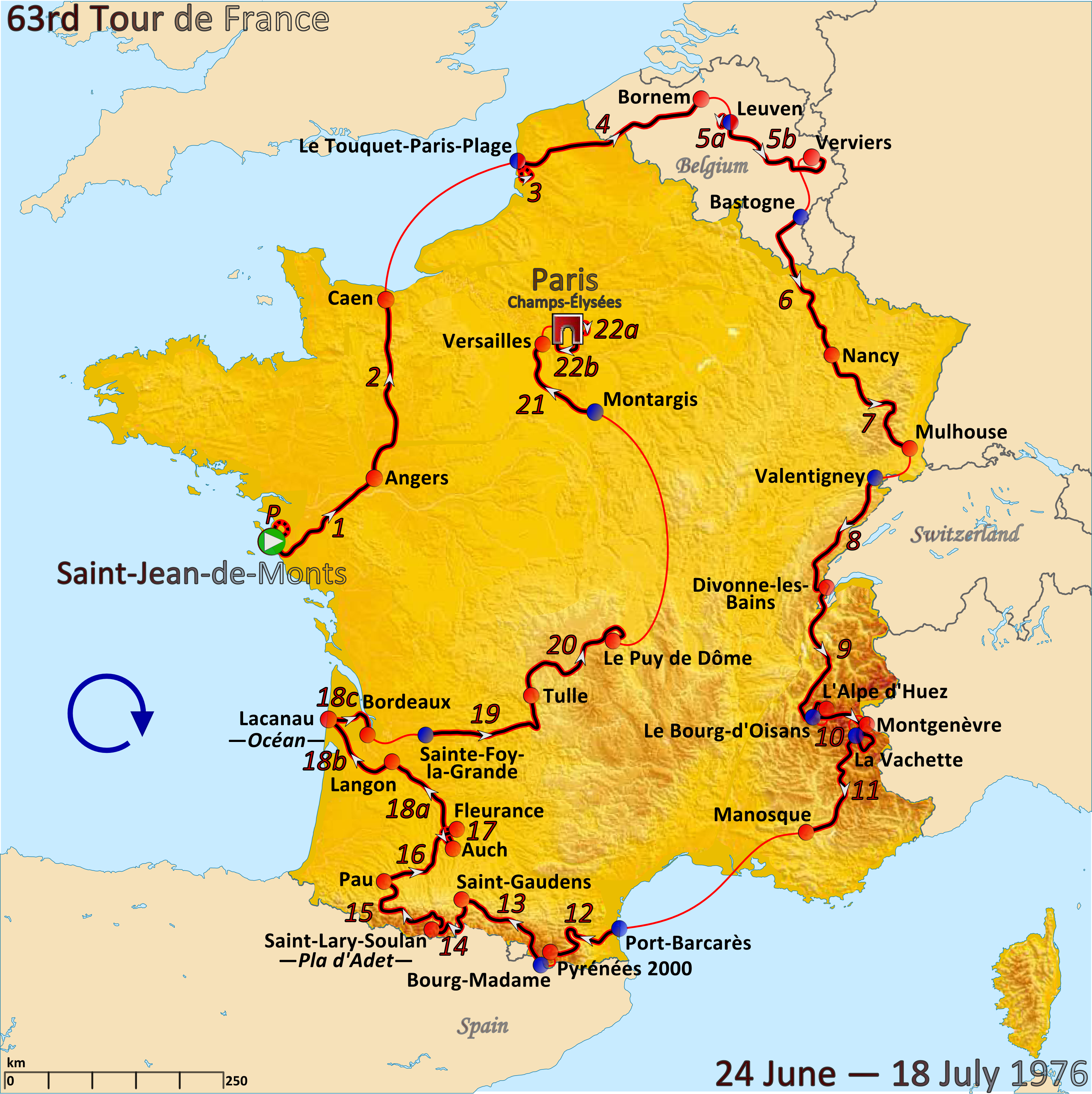 FileRoute of the 1976 Tour de Francepng Wikimedia Commons