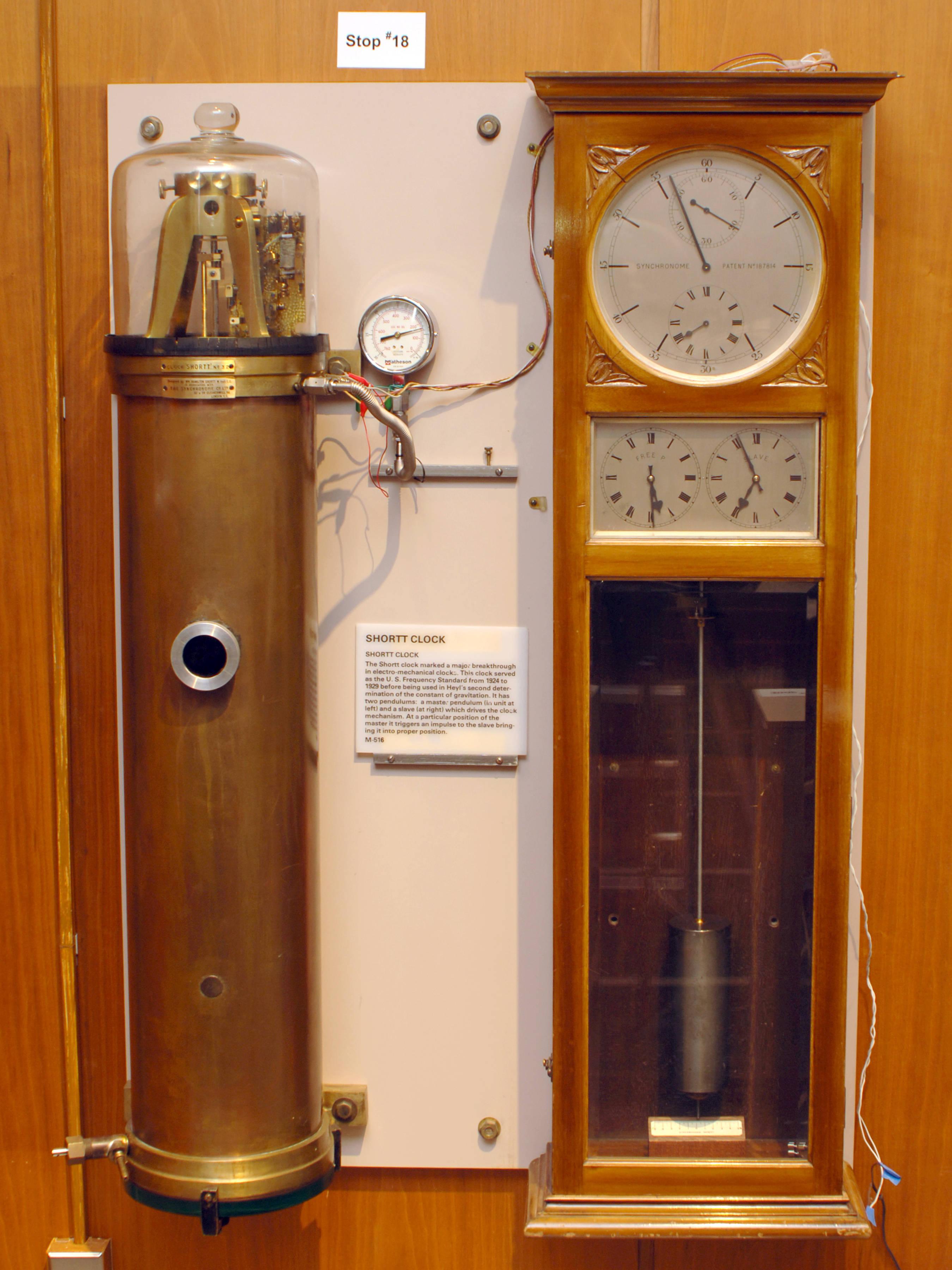 Shortt Synchronome Clock Wikipedia