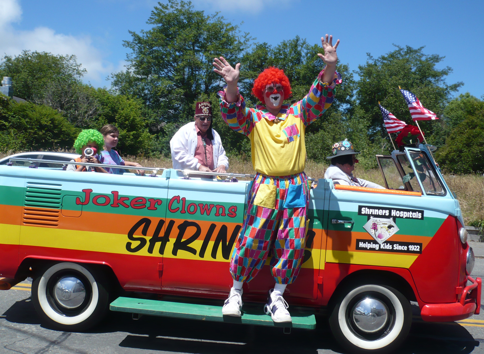 Shriner Clown Cars Sale