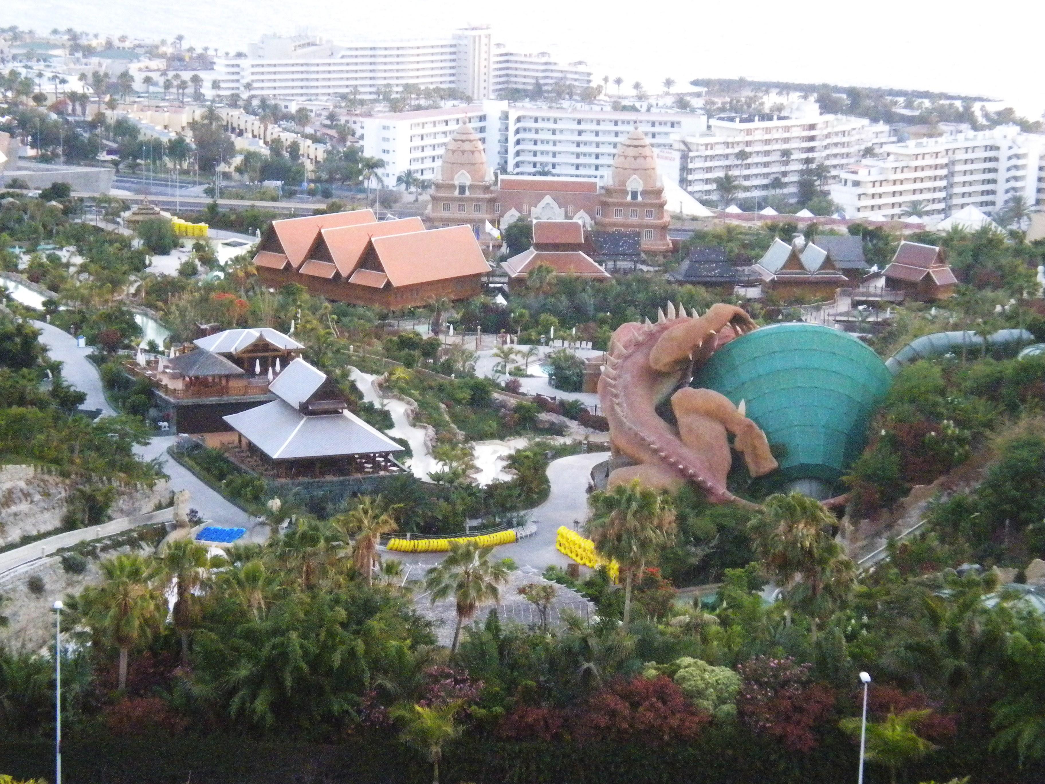 Siam Park; water parks in Spain