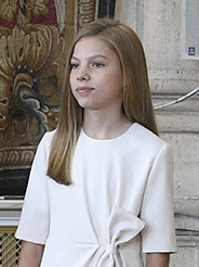 Infanta Sofía of Spain second child of King Felipe VI and Queen Letizia