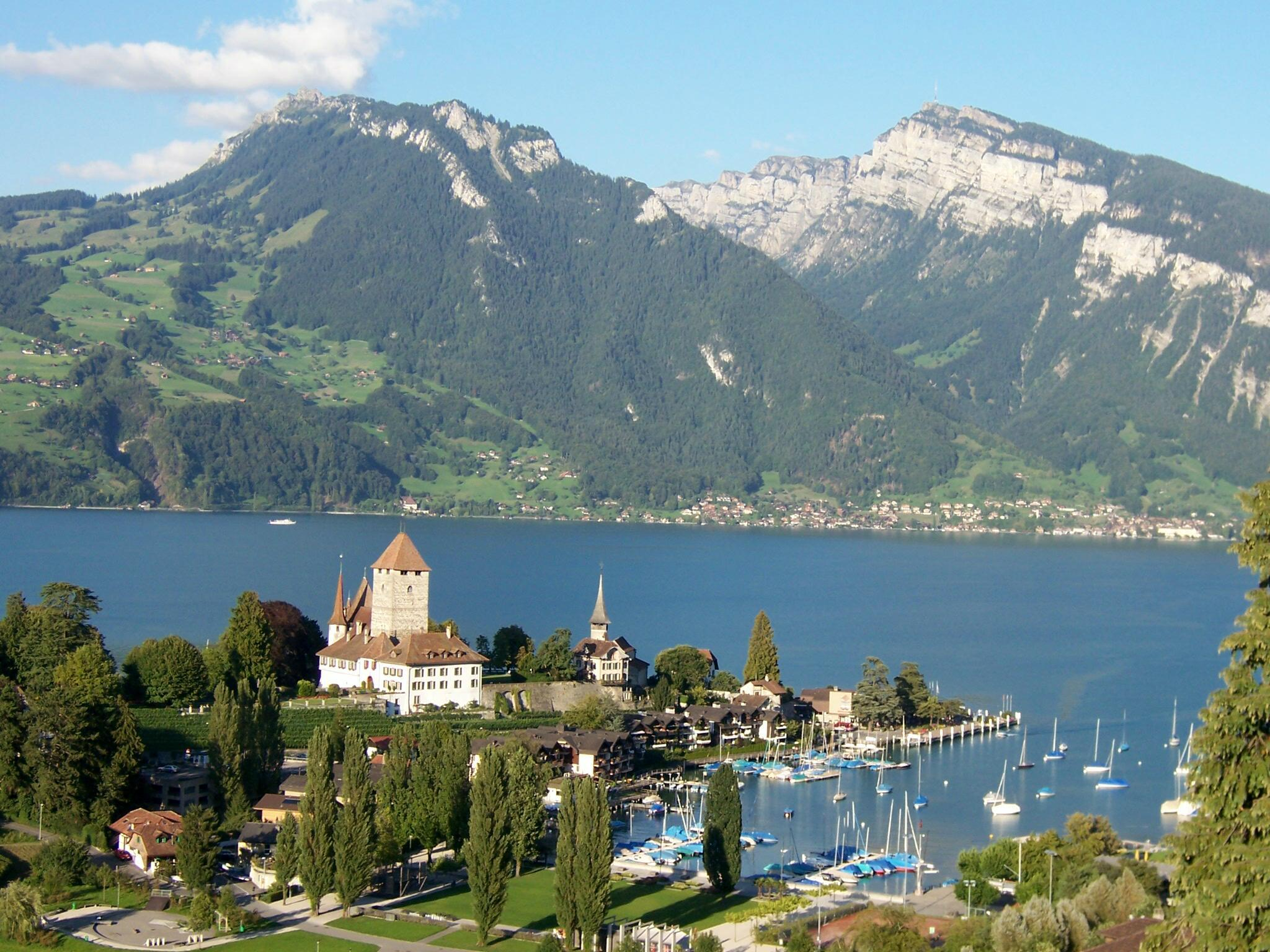 Spiez Switzerland  city pictures gallery : Spiez am Thunersee Wikipedia, the free encyclopedia