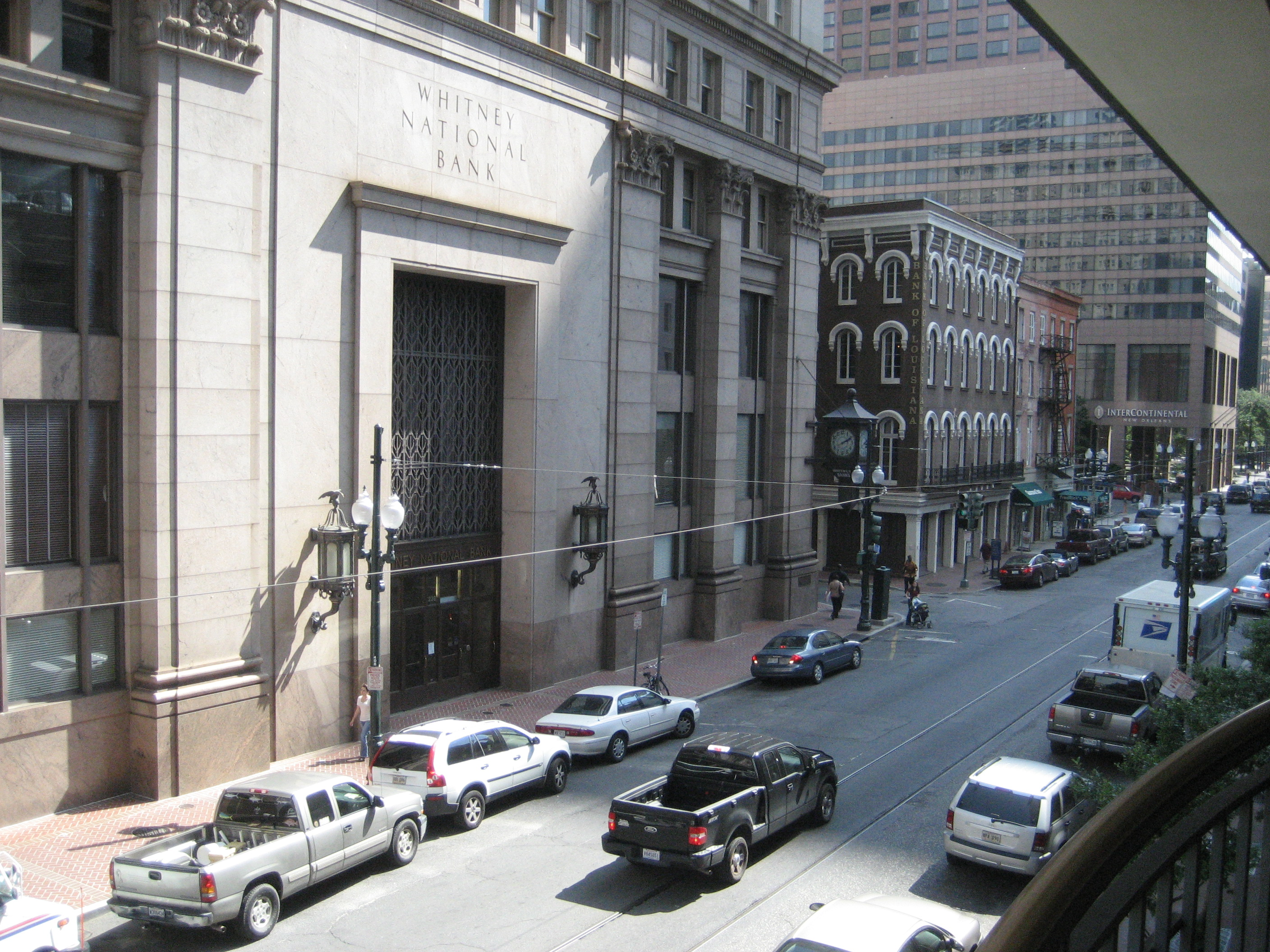 Whitney Bank, New Orleans. Credit: Wikipedia