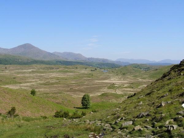 Stable Harvey Moss from the Cumbria Way - geograph.org.uk - 1328077