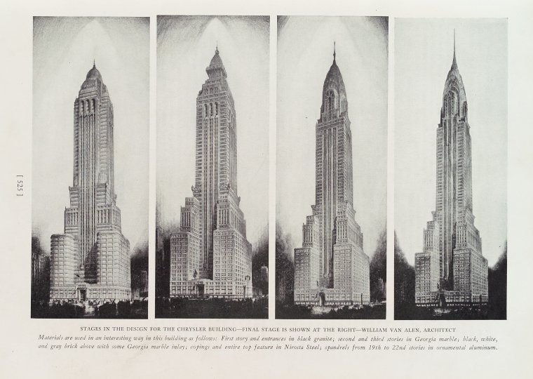 Chrysler Building Wikipedia: File:Stages In The Design For The Chrysler Building.jpg