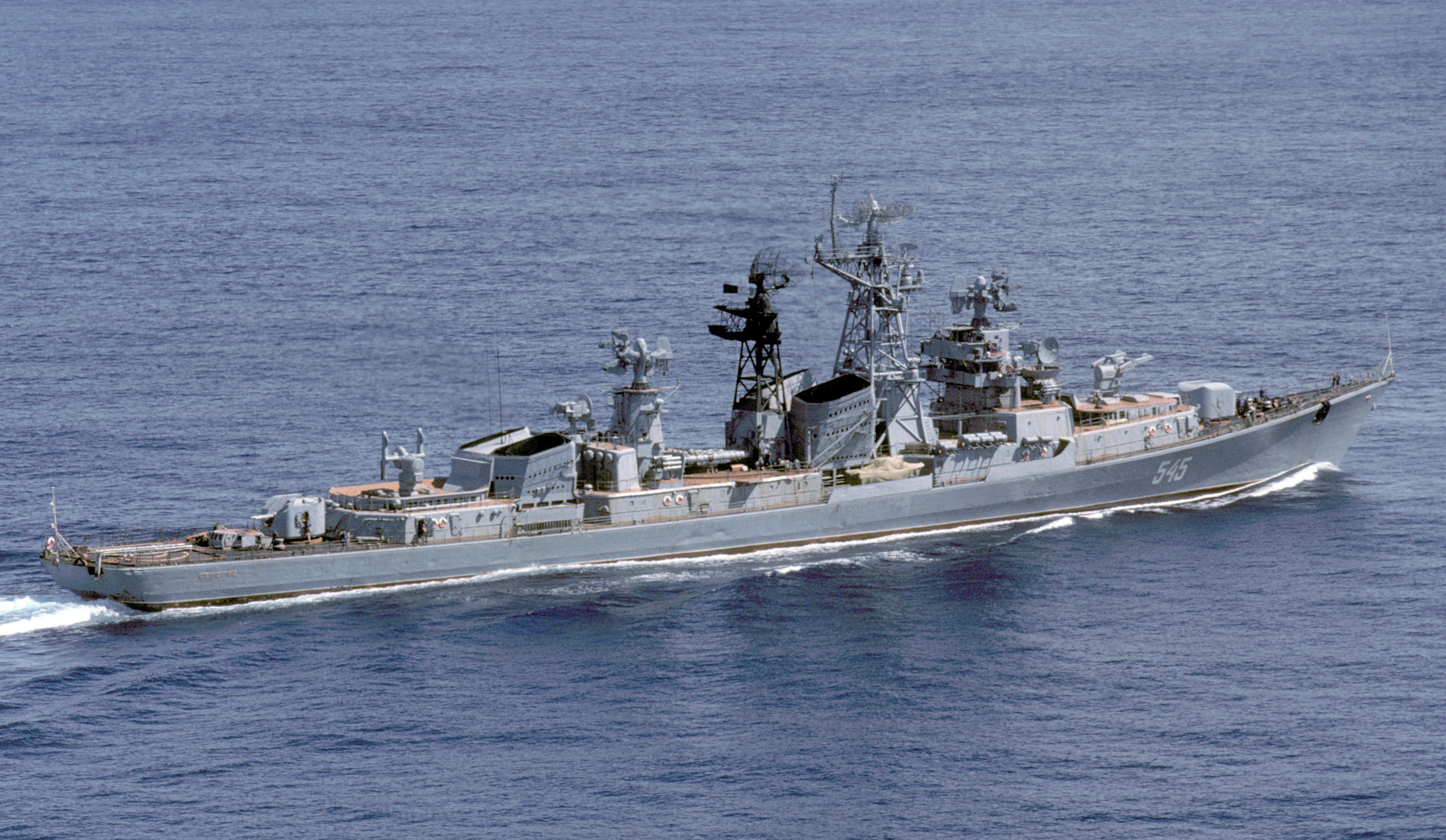 destroyer russe world of warship