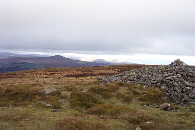 Summit cairn on Blorenge - geograph.org.uk - 284902