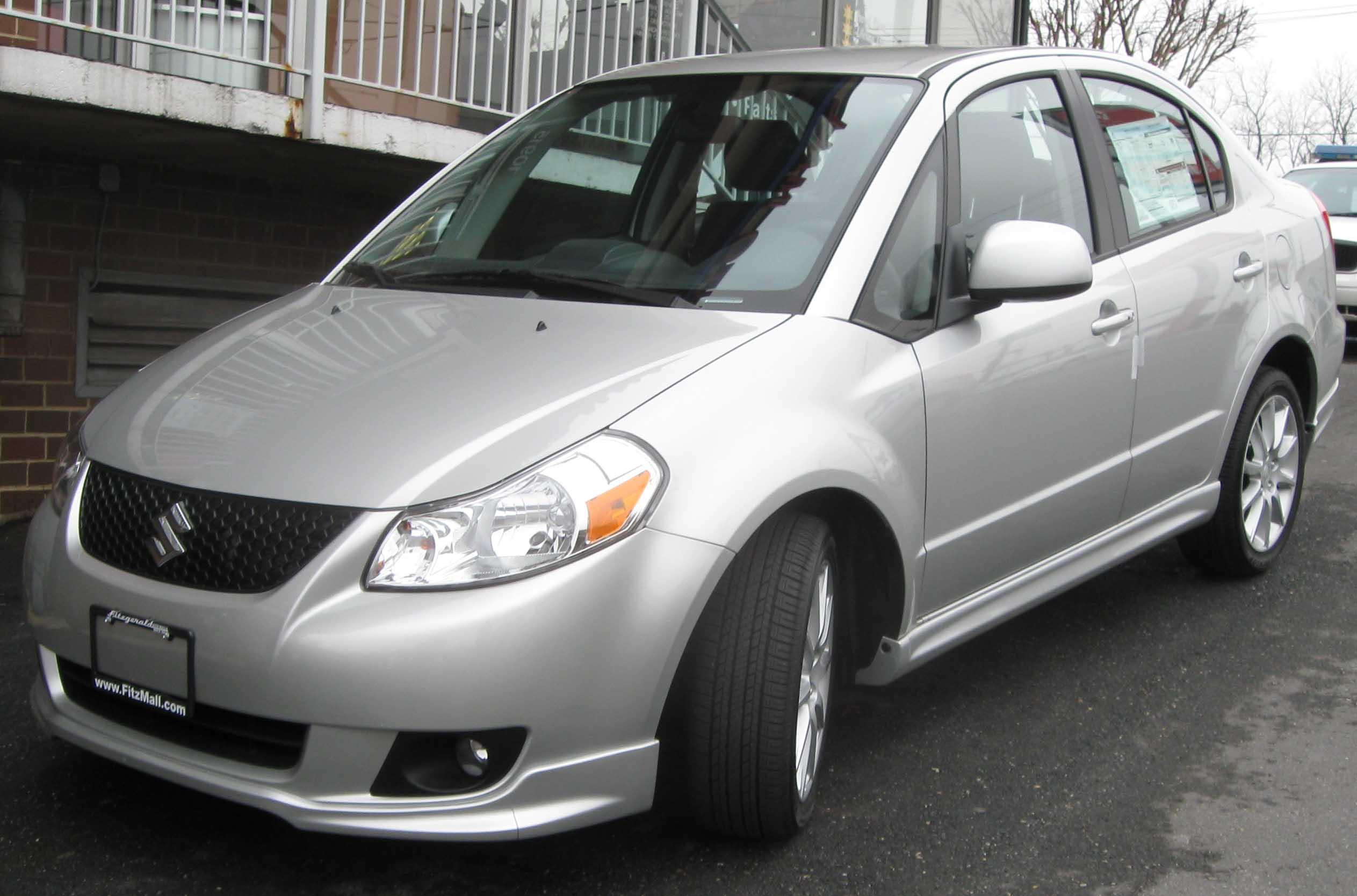 Suzuki Sx Sedan Le