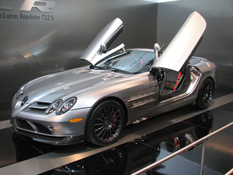 Mercedes-Benz SLR McLaren - Wikipedia, the free encyclopedia