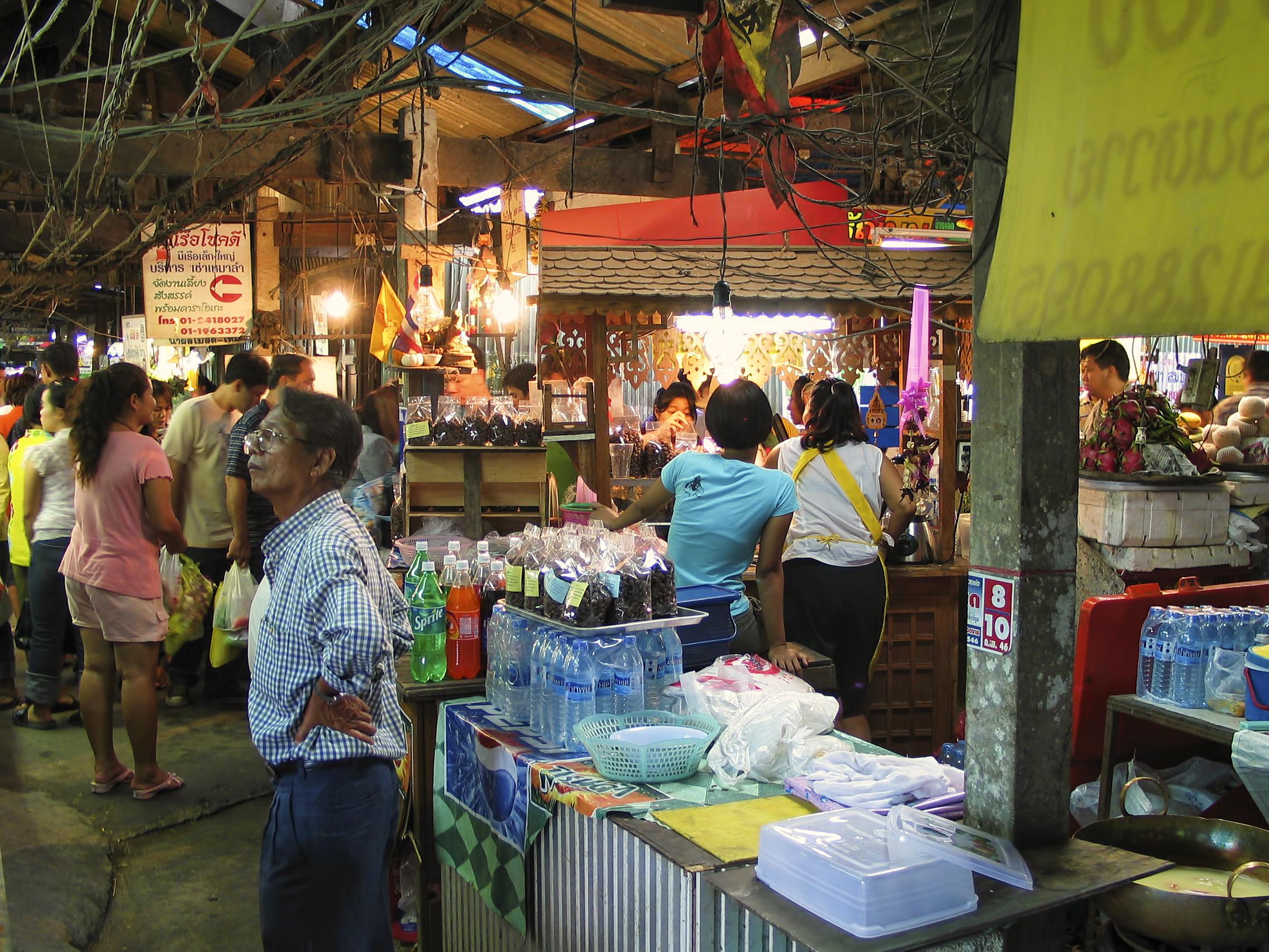 [Chia sẻ] Khám phá du lịch DON WAI FLOATING MARKET, Nakhon Pathom, Thái Lan