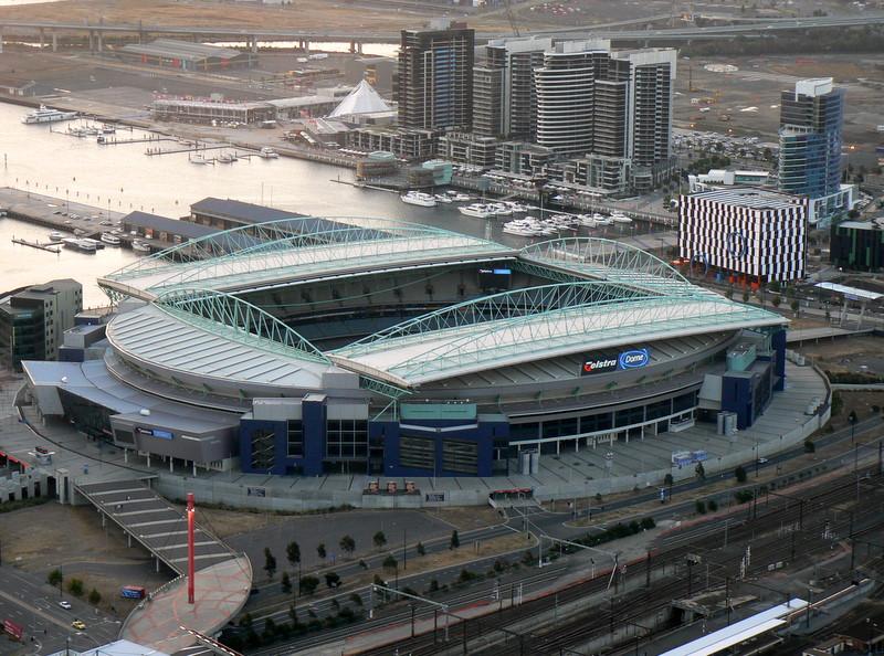 Depiction of Estadio Docklands