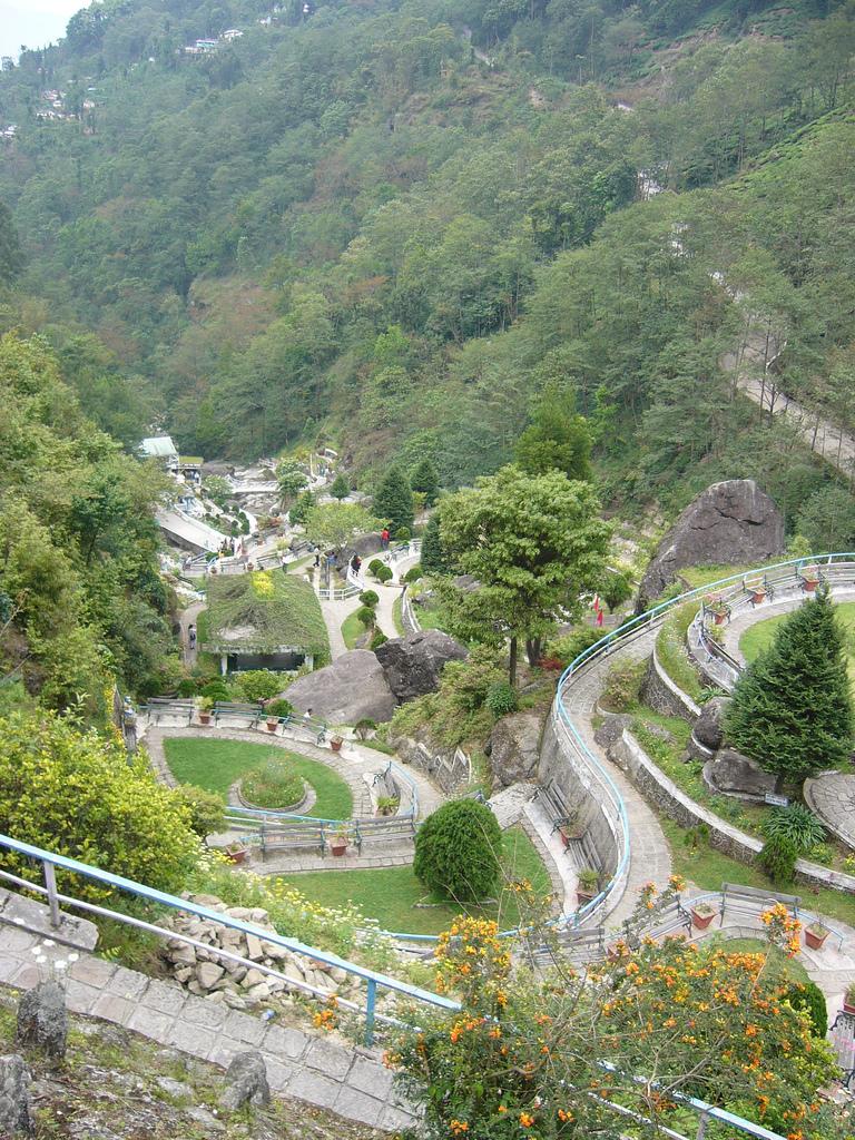 file terraced gardens in rock garden darjeeling india