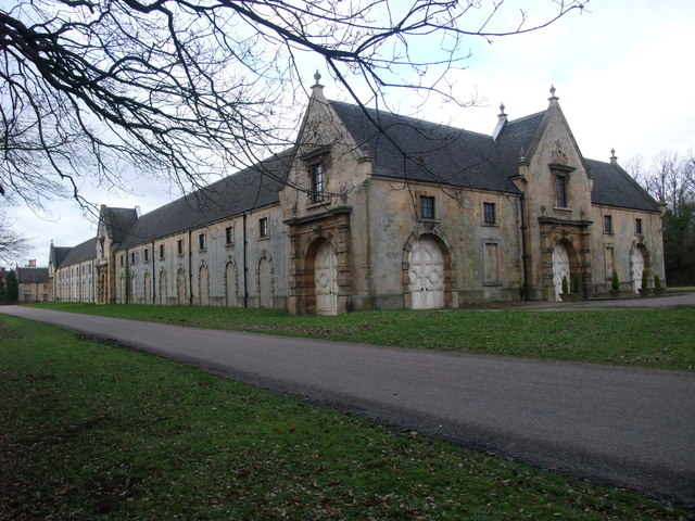 The 'new' riding school, Welbeck Estate - geograph.org.uk - 1176172