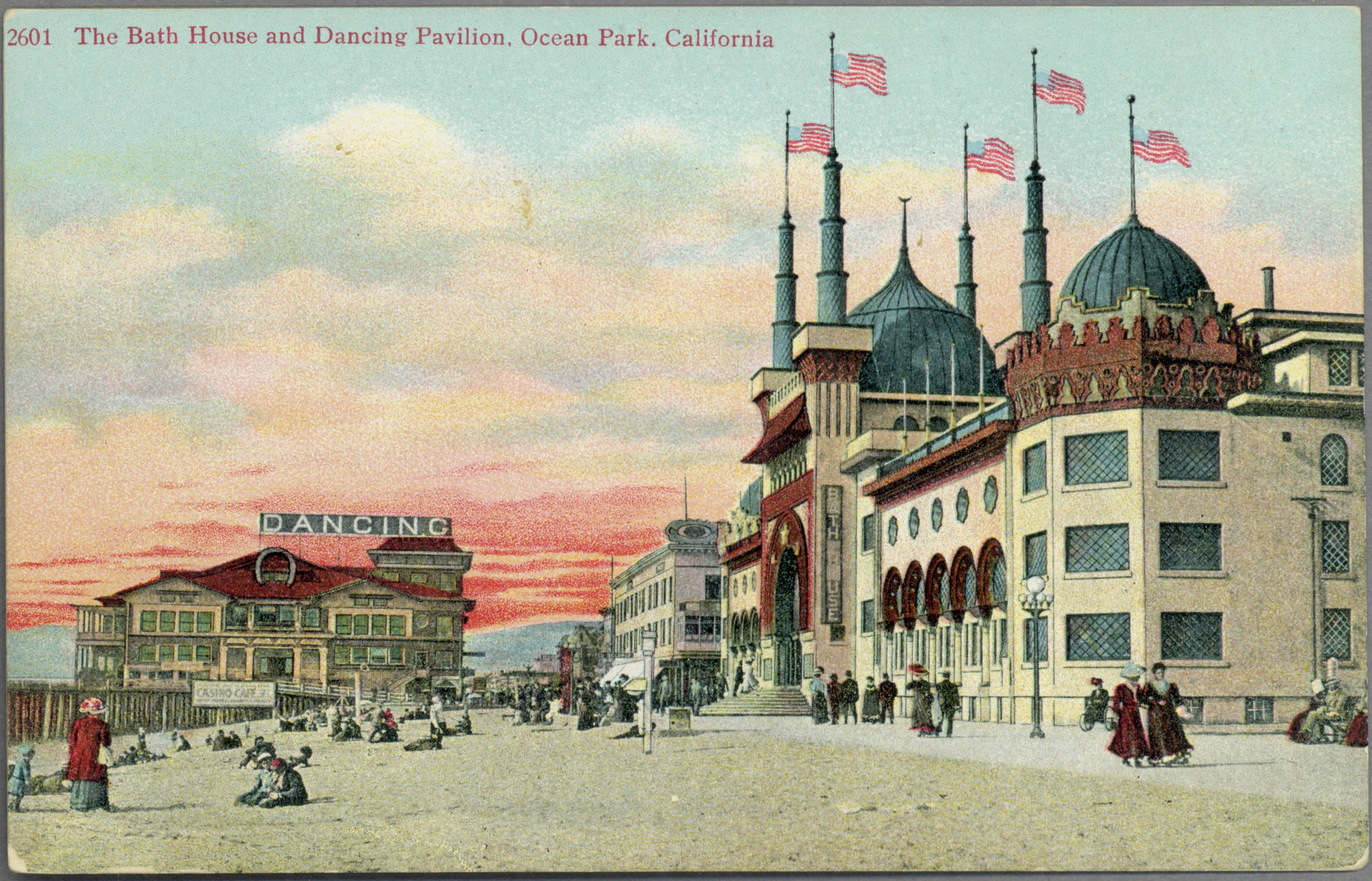 file the bath house and dancing pavilion ocean park california