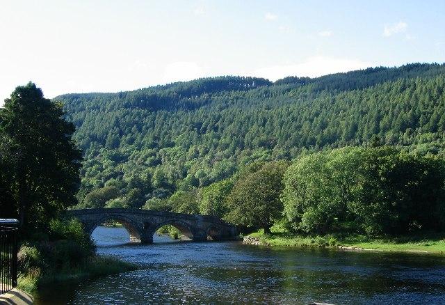 The Bridge, Kenmore. - geograph.org.uk - 9184