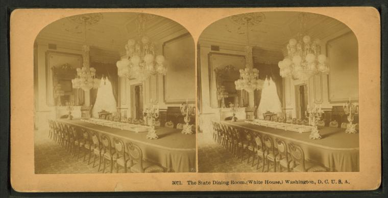 File The State Dining Room White House Washington D C