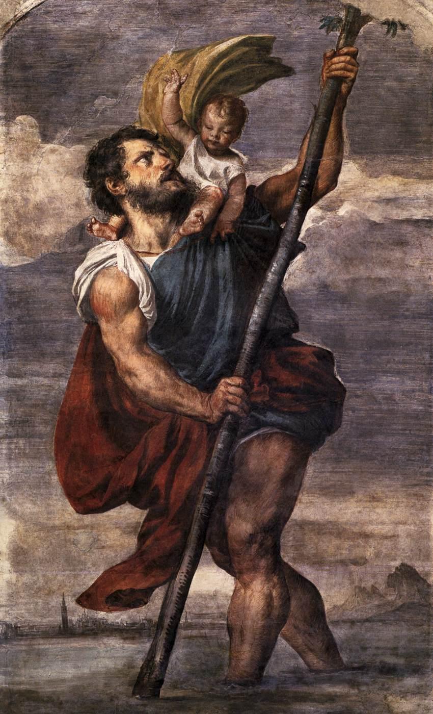 San Cristóforo, nombre italiano de San Cristóbal, santo protector de los viajeros y automovilistas, fue el nombre elegido con algo de humor por Spinetta, para el furioso tercer álbum de Los Socios del Desierto.