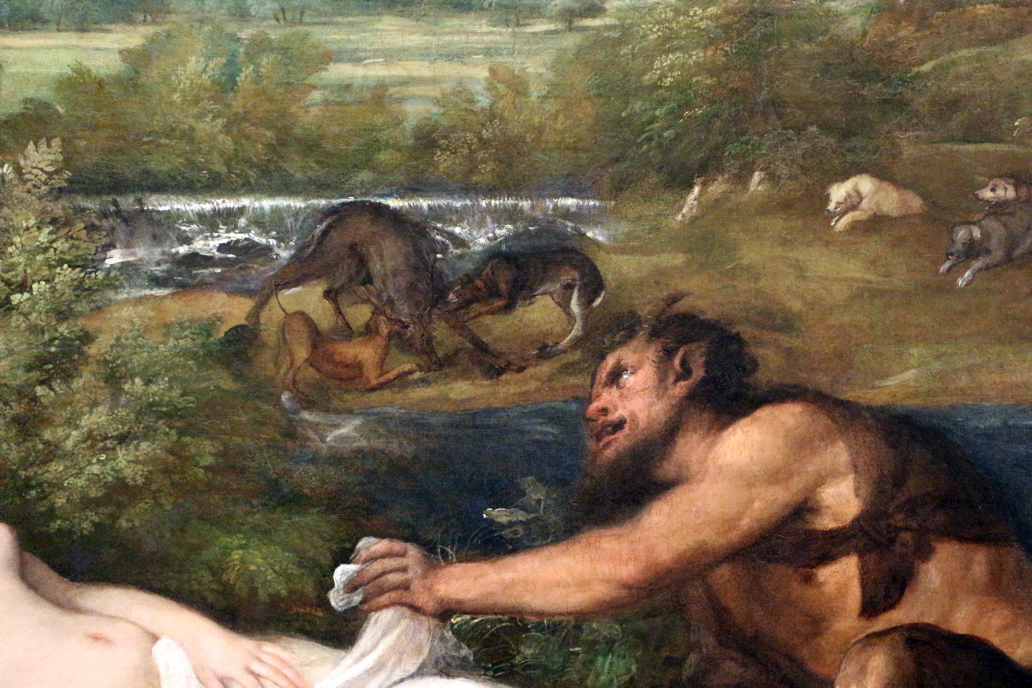 Filetiziano E Bottega Giove E Antiope Detto La Venere Del Pardo