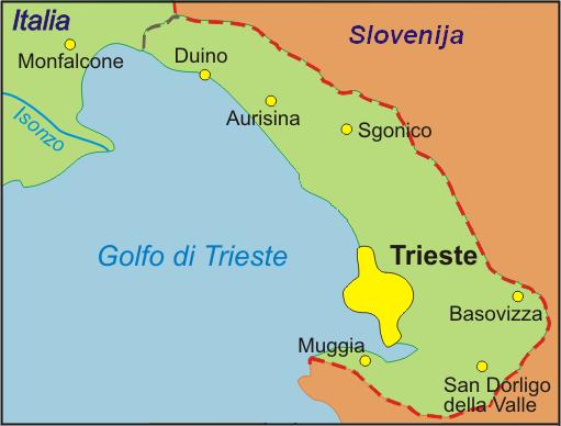 FileTriesteprovincemapPNG Wikimedia Commons - Trieste map