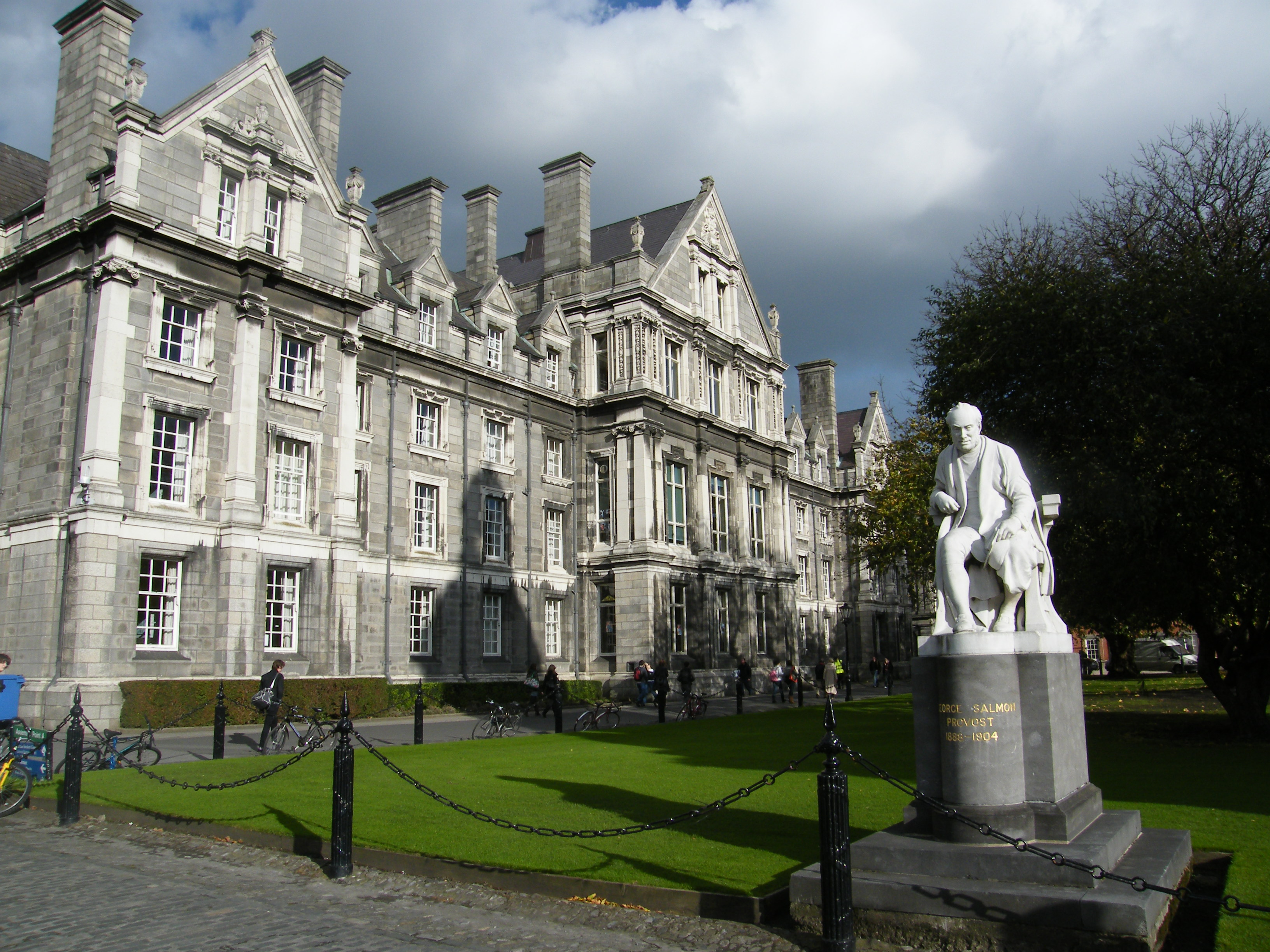 The Library Of Trinity College In Dublin