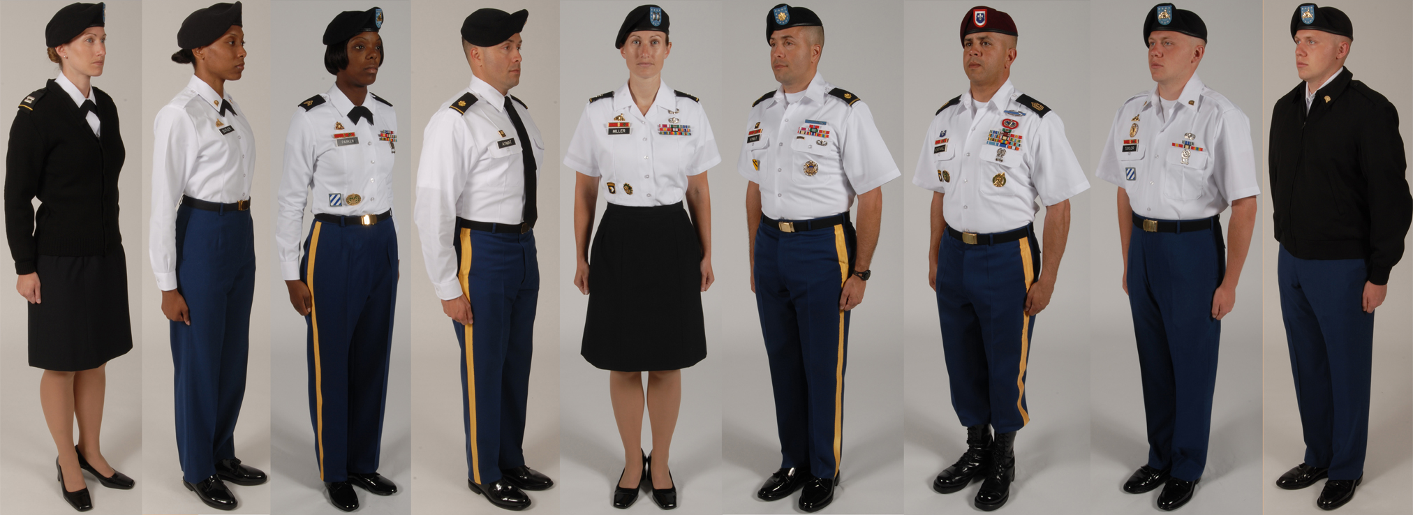 Original Dress Blue Uniform For Aviation And Airborne Troops Winter Dress