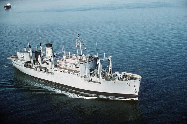USNS Sirius (T-AFS-8) - Wikipedia