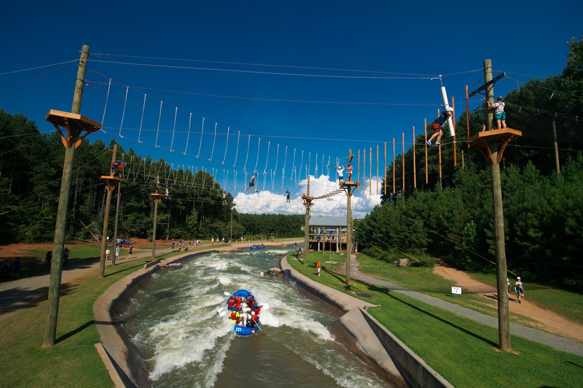 US National White Water Center in Charlotte