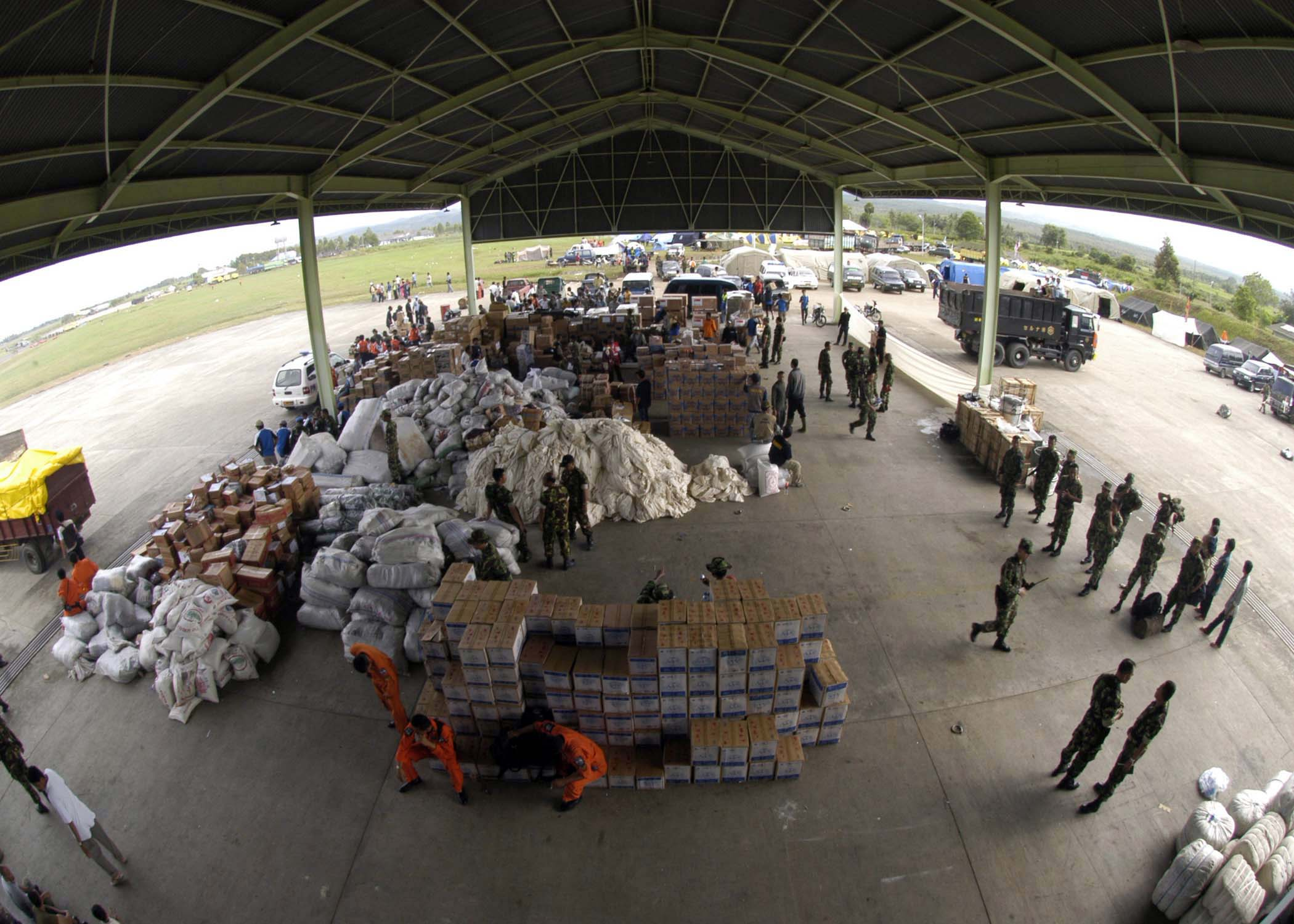 File:US Navy 050102-N-5362F-123 Disaster relief supplies from ...