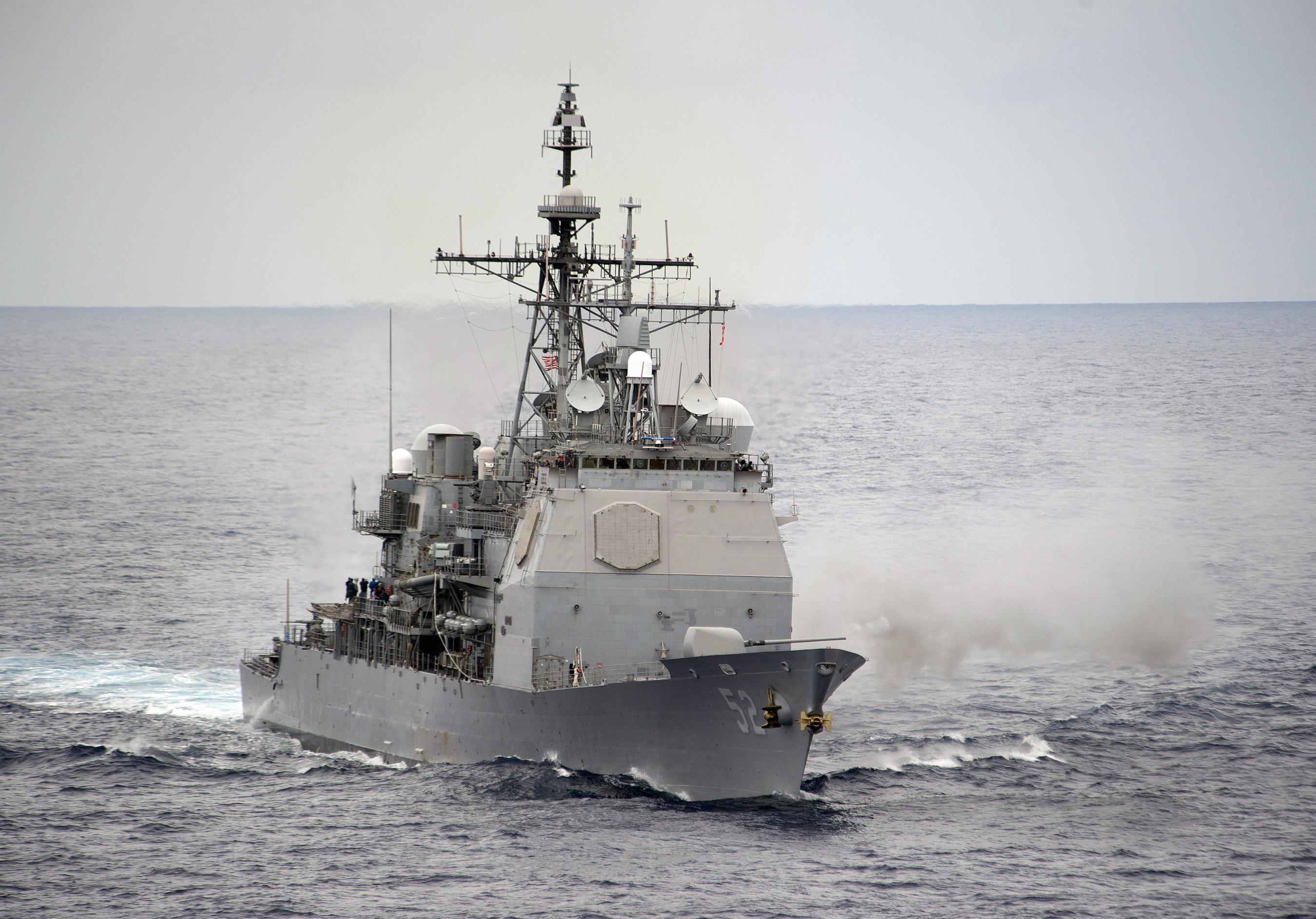 Ticonderoga-class cruiser - Howling Pixel