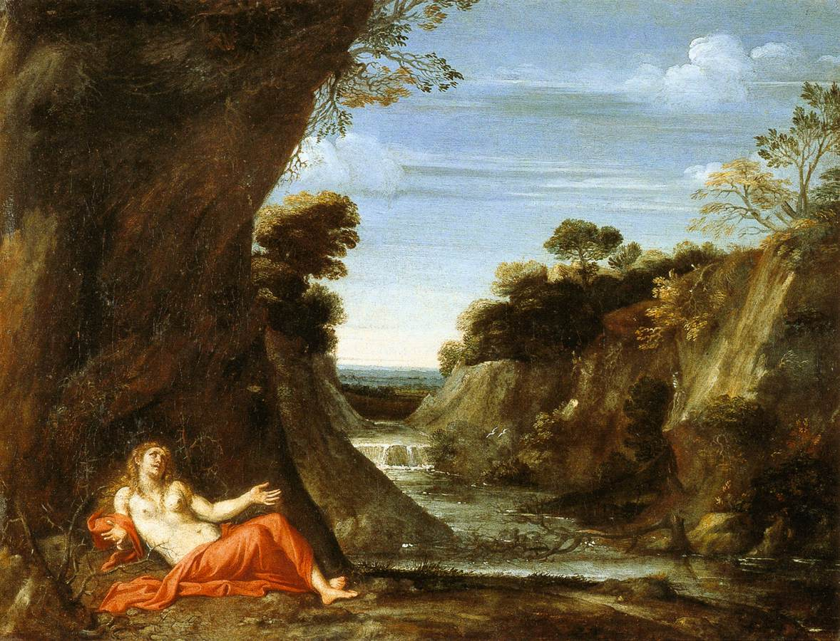 File:Viola, Gian Battista - Penitent Magdalen in a ...