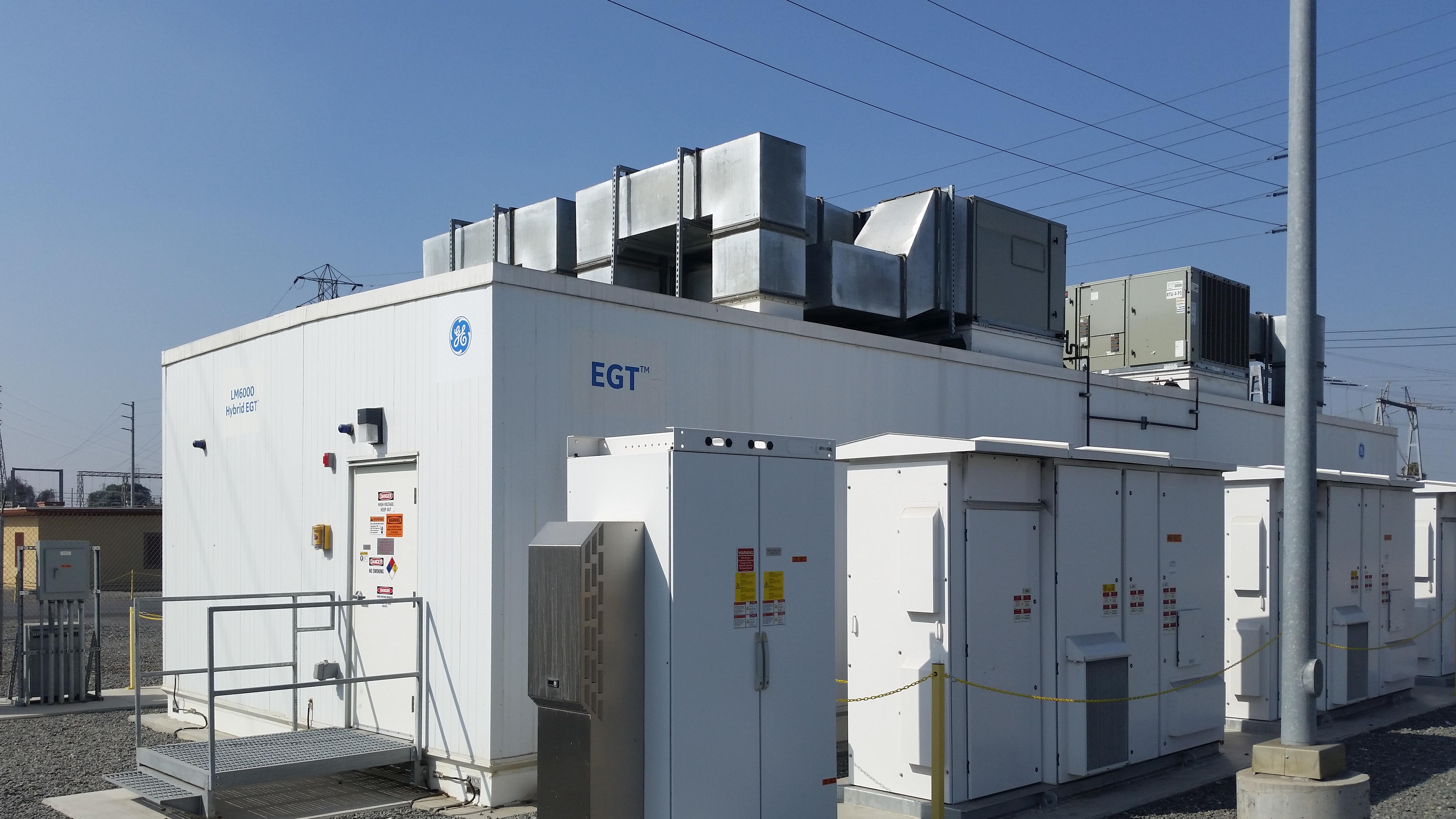 File World s 1st Low Emission Hybrid Battery Storage Gas Turbine