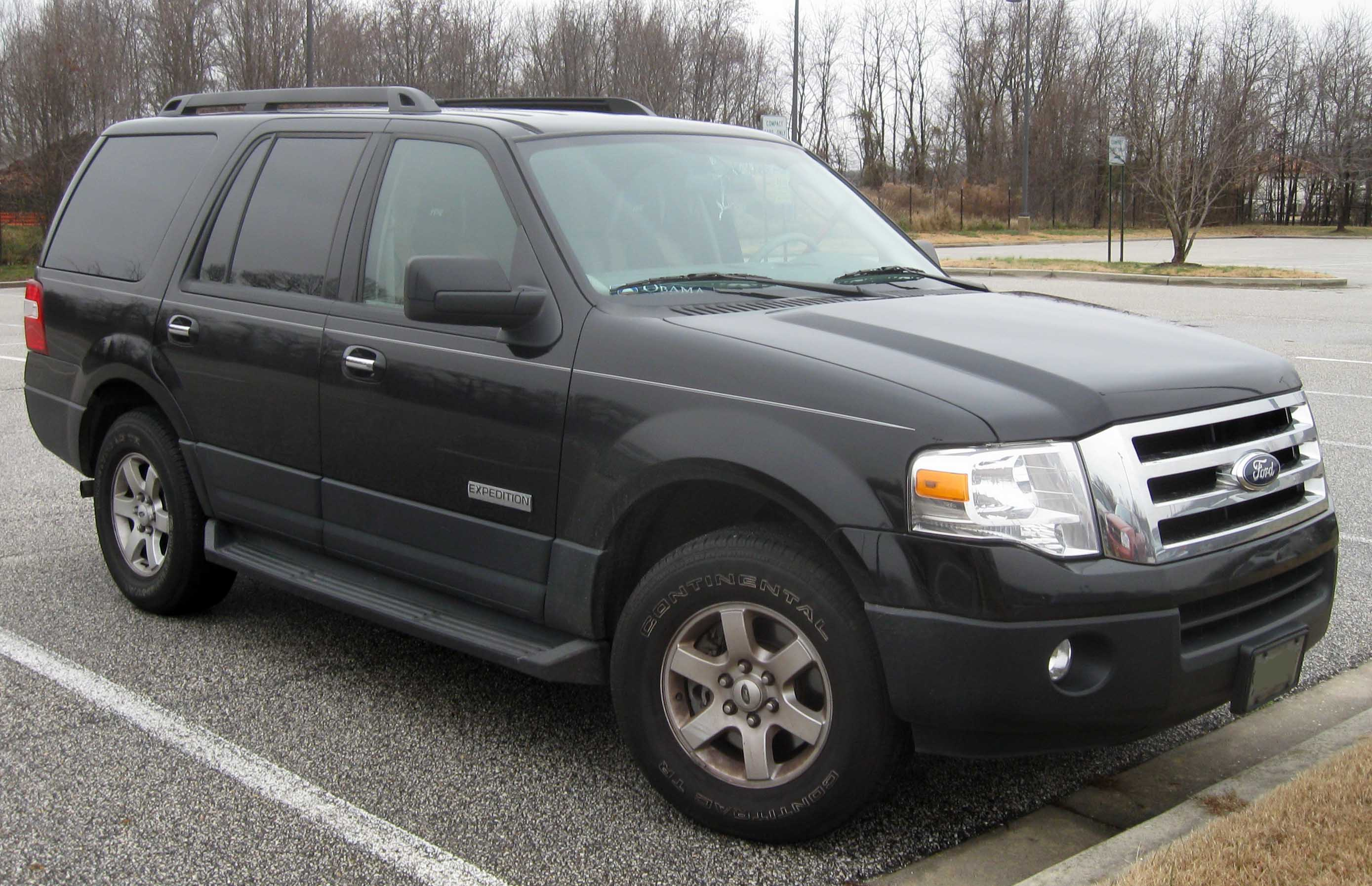 File:07-09 Ford Expedition XLT.jpg - Wikimedia Commons