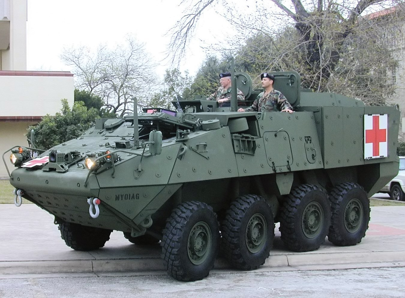 Image of United States Army Stryker