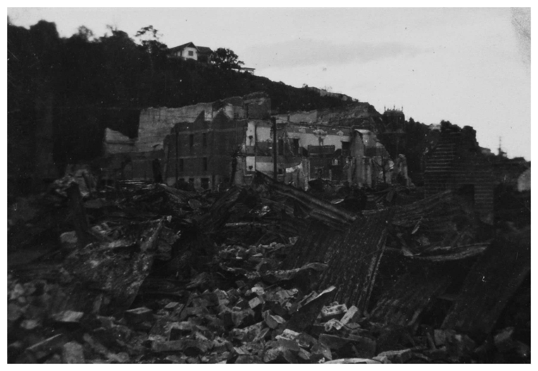 File:1931 Hawkes Bay Earthquake - Shakespeare Road, Napier