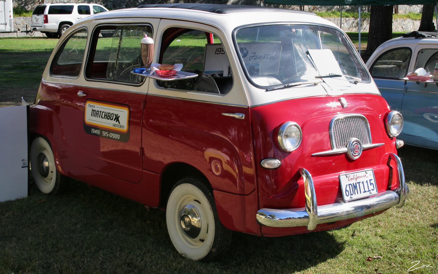 File 1960 Fiat 600 Multipla Red White Fvr 4637764532