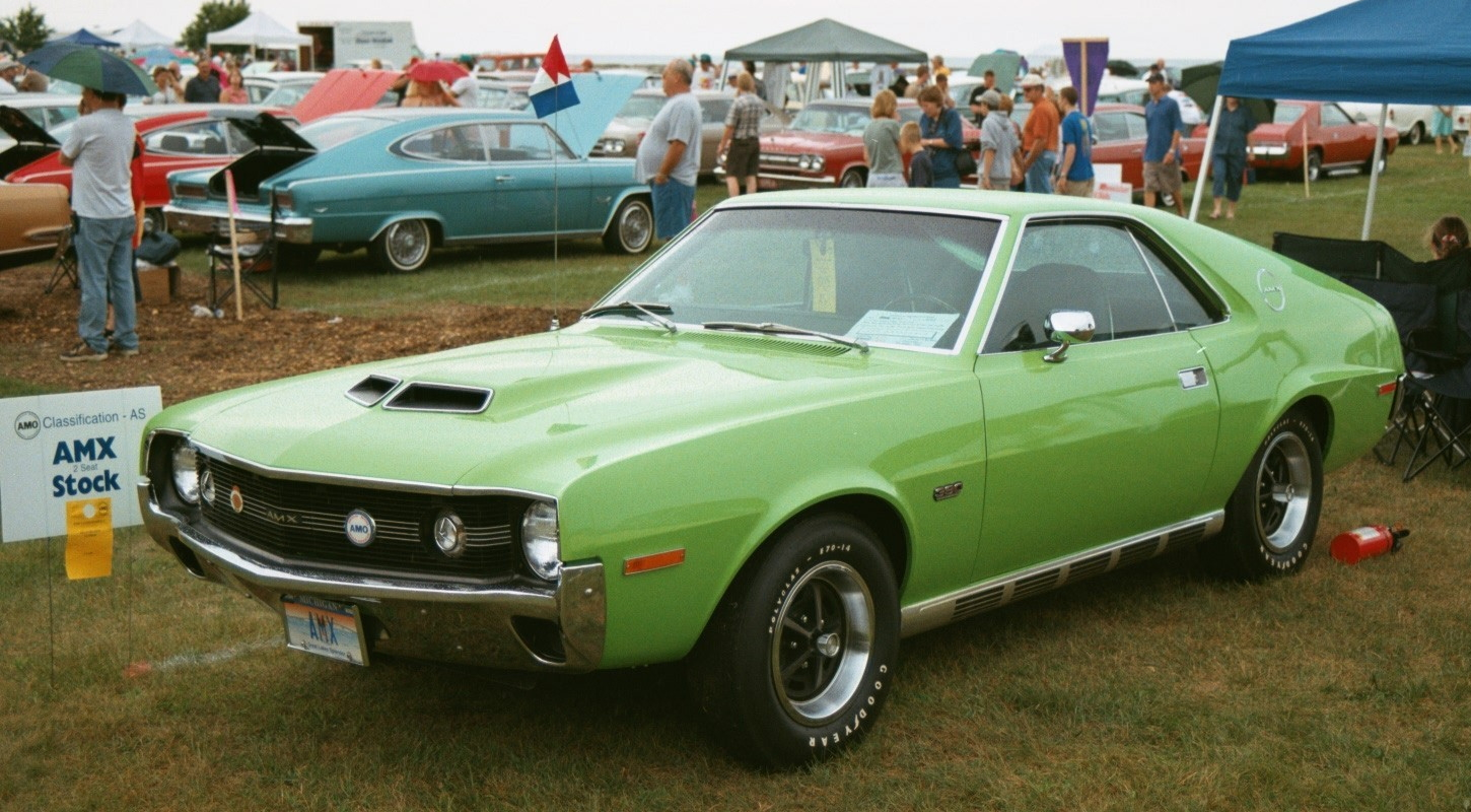 File 1970 Amx Big Bad Green 390 Go Pac In Wi Show Jpg
