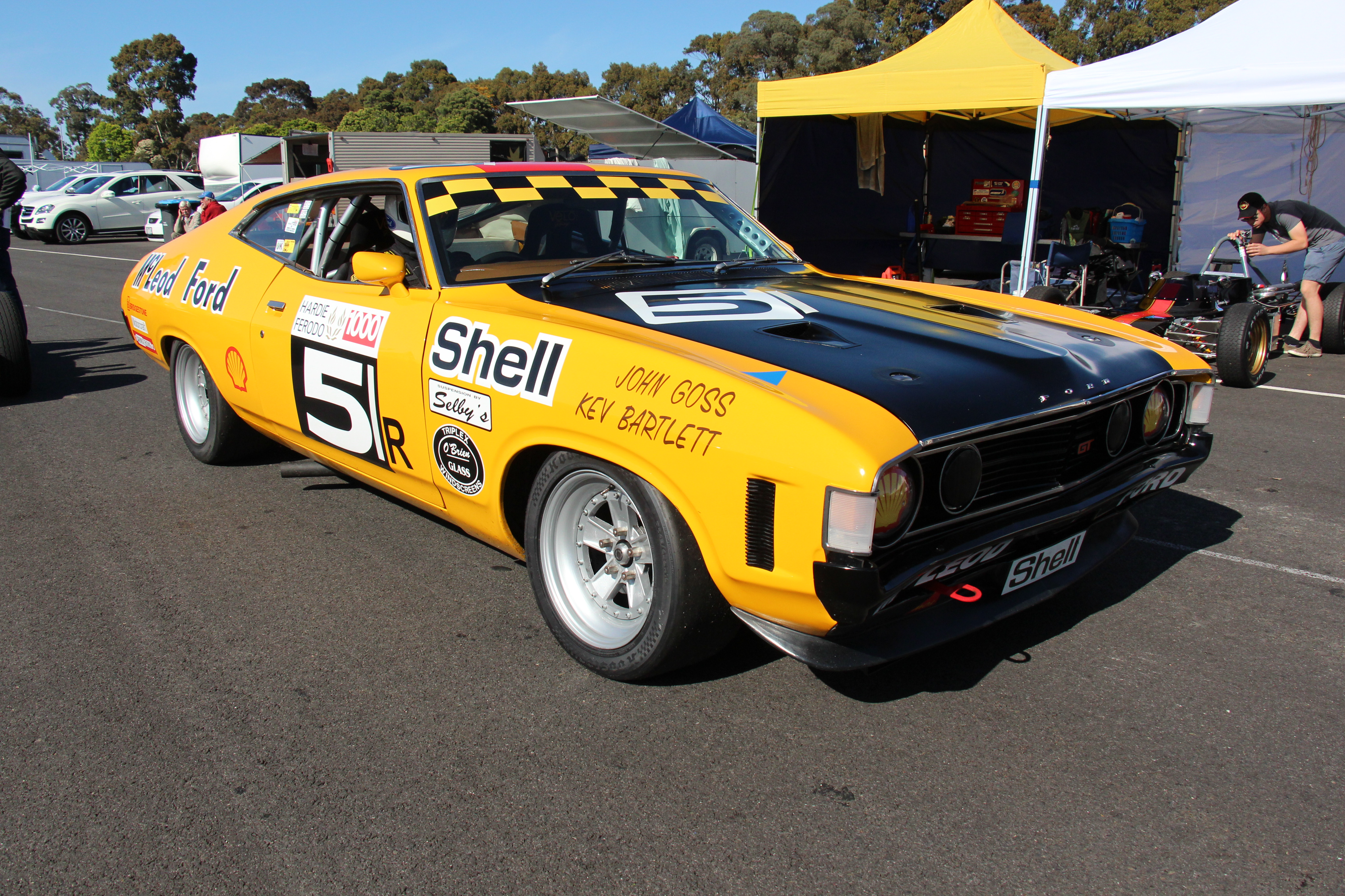 file 1973 ford xa falcon gt hardtop race car 22337678333. Black Bedroom Furniture Sets. Home Design Ideas