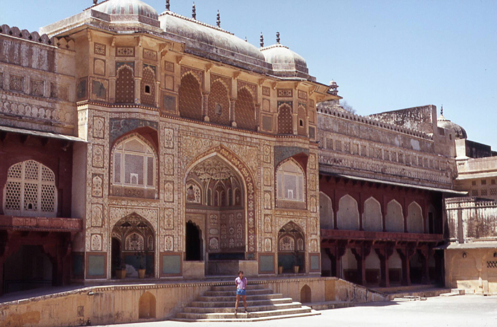 The Ganesh Pol of Amber fort. Amber is now part of Jaipur Municipal Corporation.