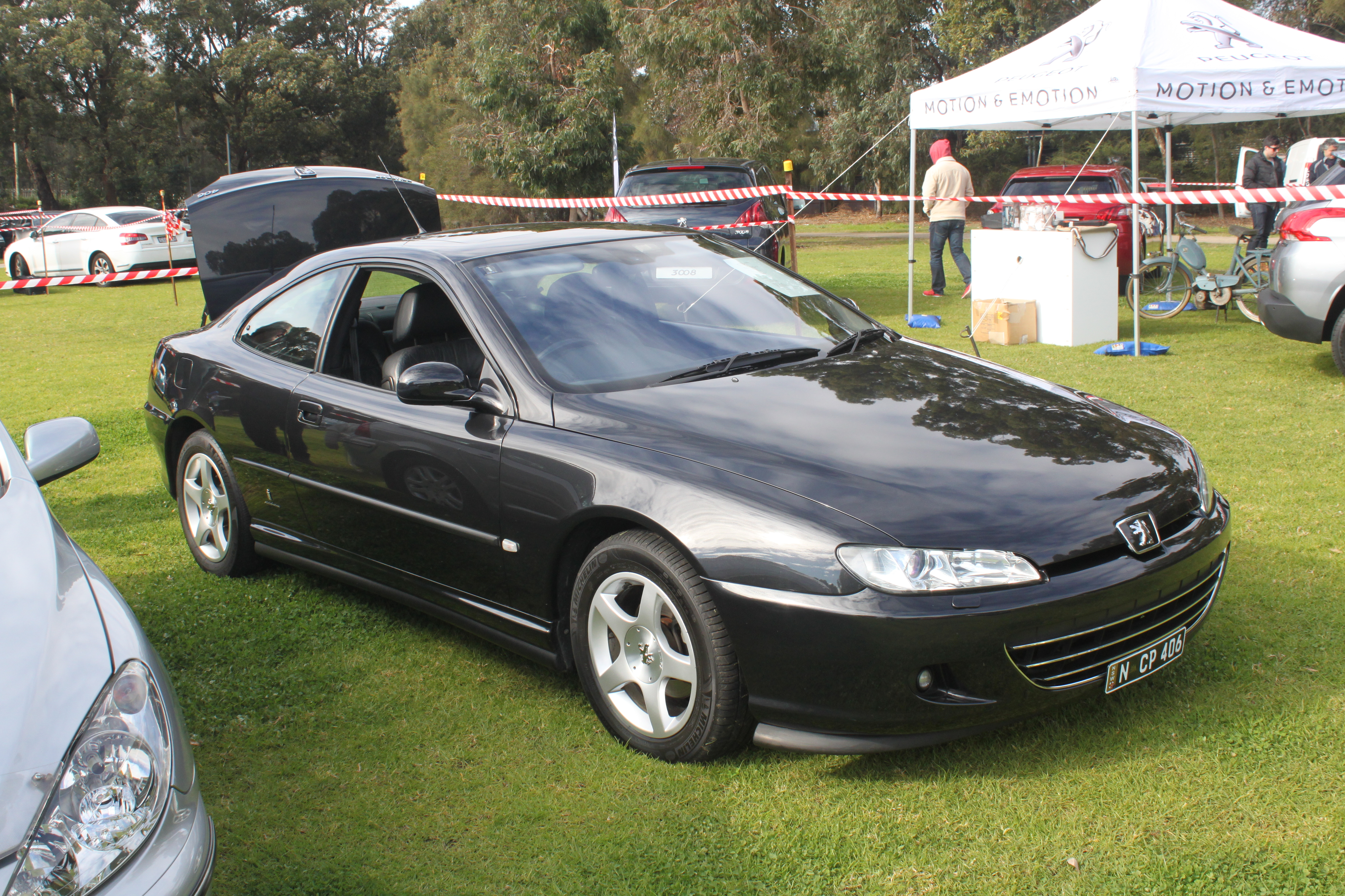 file 2003 peugeot 406 d9 my03 coupe 19636496879 jpg wikimedia commons. Black Bedroom Furniture Sets. Home Design Ideas