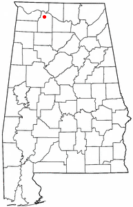 Loko di North Courtland, Alabama