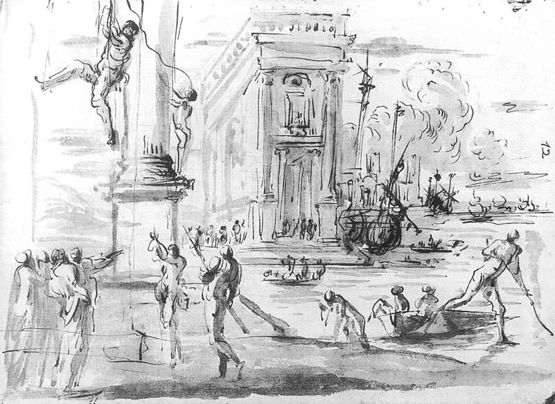 Capriccio Dei File agostino Tassi With Conservatori The Palazzo CoBxrde