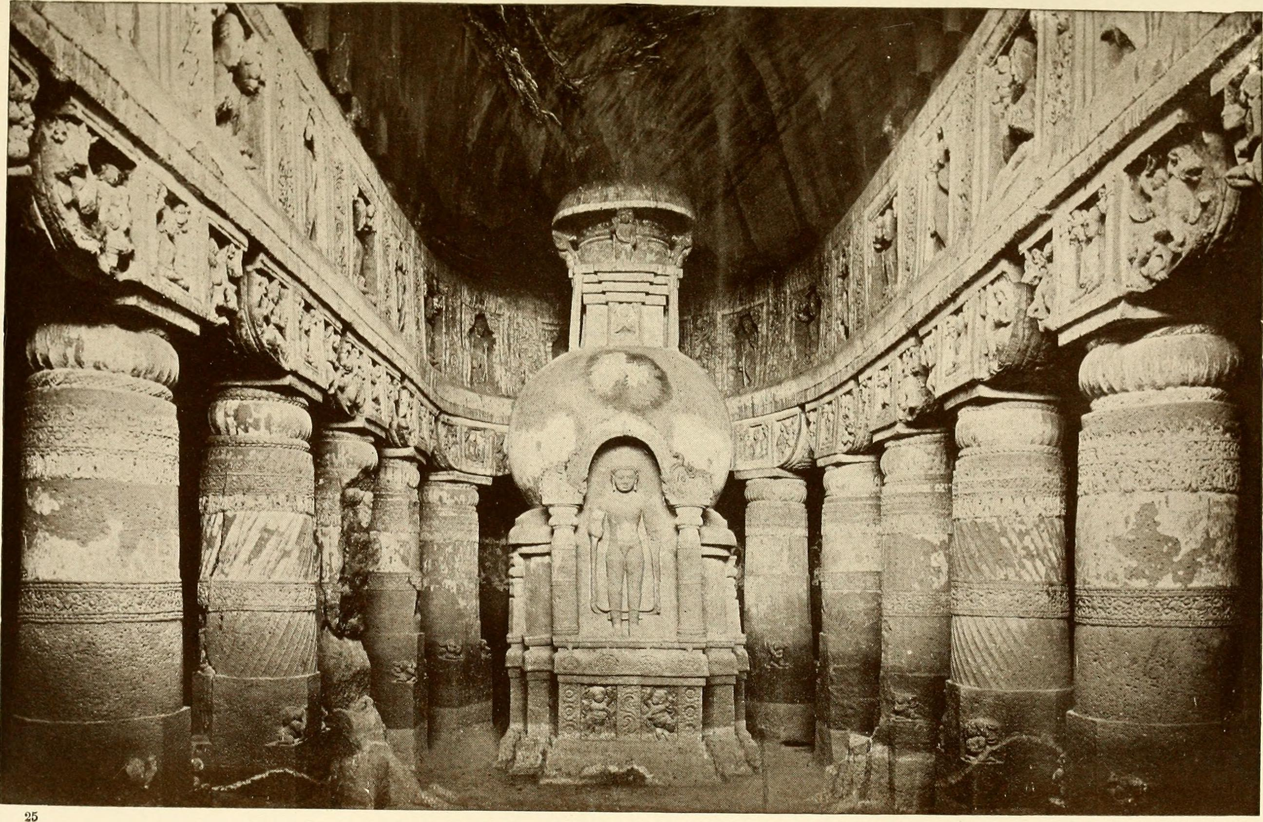 Image result for cave 19 ajanta