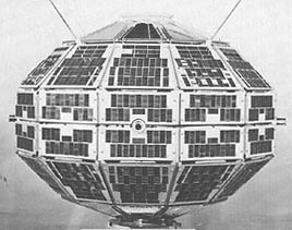 Alouette 1 Canadian satellite