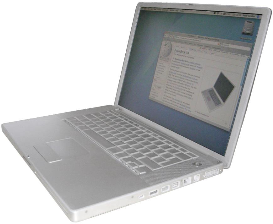 PowerBook G4 – Wikipédia, a enciclopédia livre