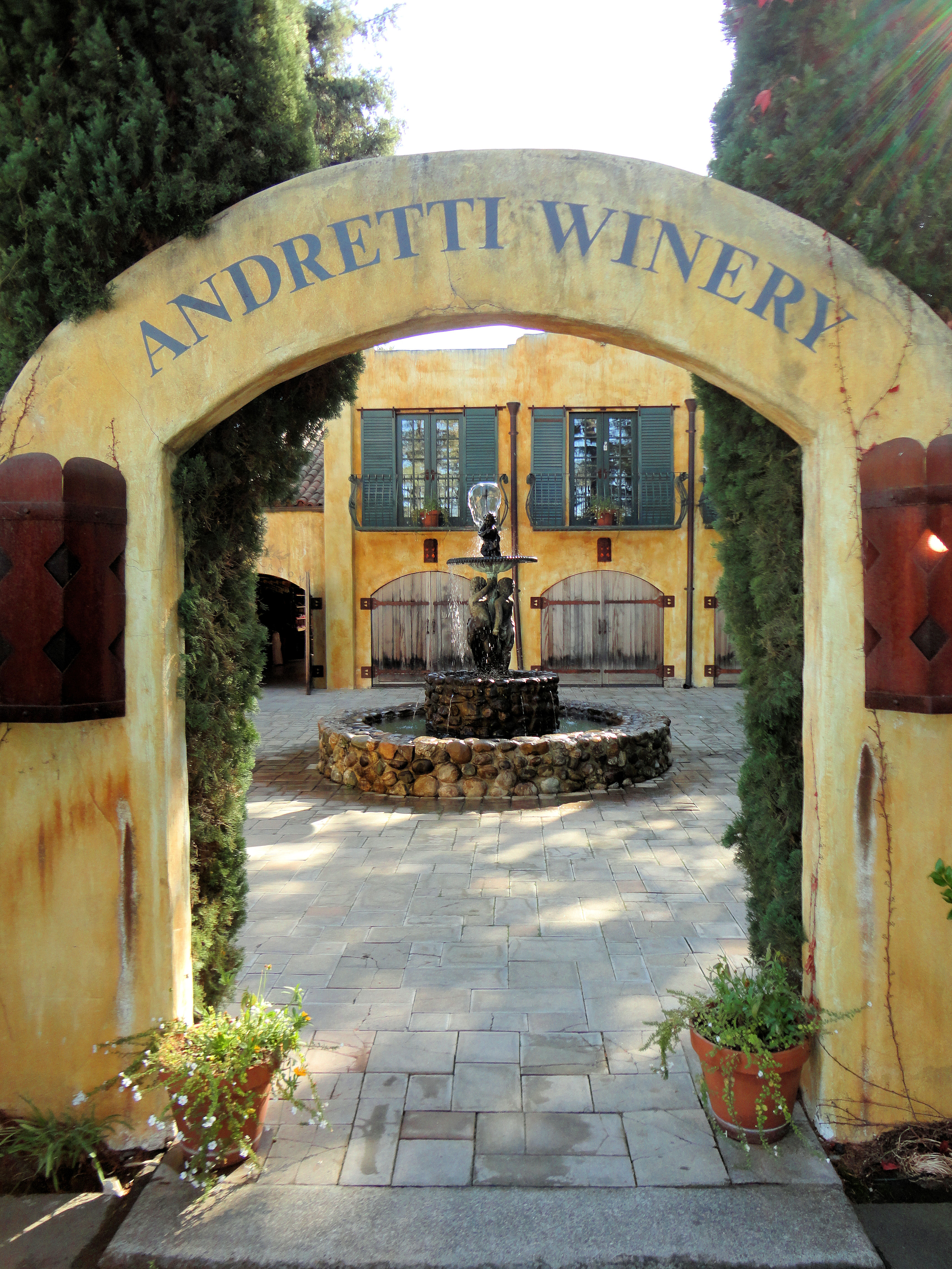 Andretti Winery C Napa Valley C California C Usa
