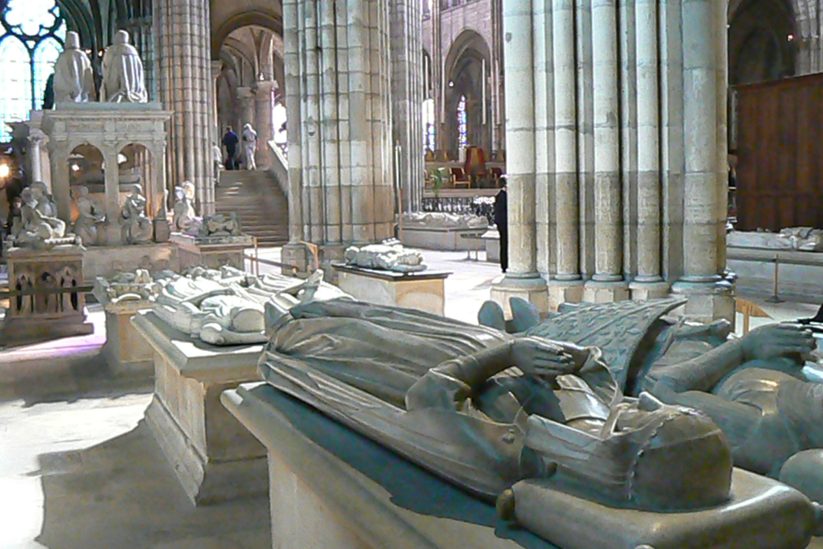 Image result for basilica of st denis tombs