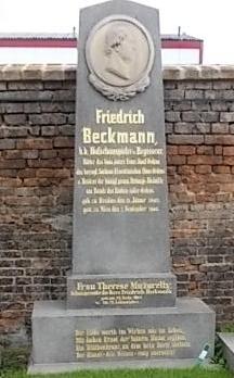 Friedrich Beckmann Grabstätte (Quelle: Wikimedia)