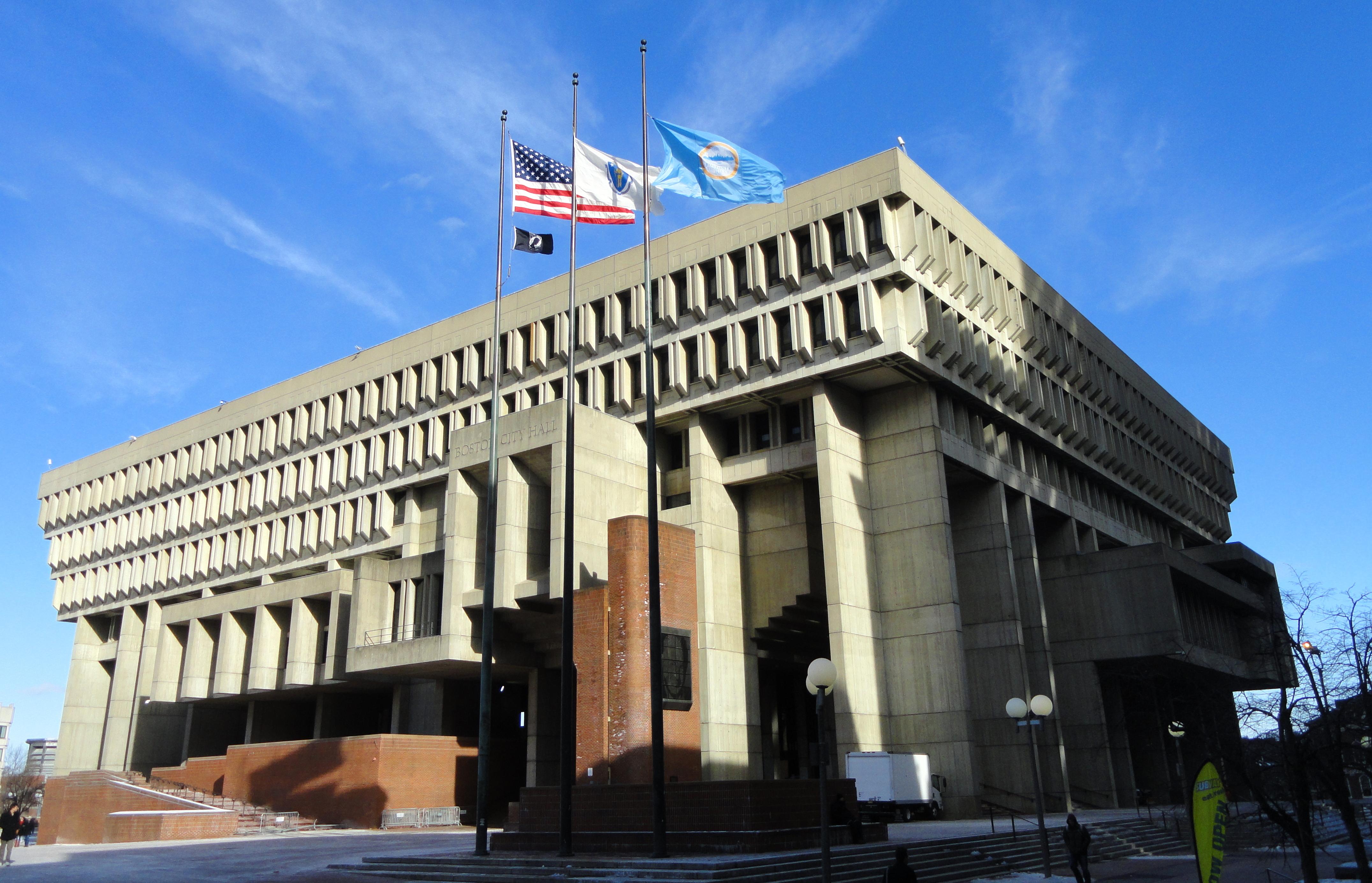 Boston City Hall - Wikipedia