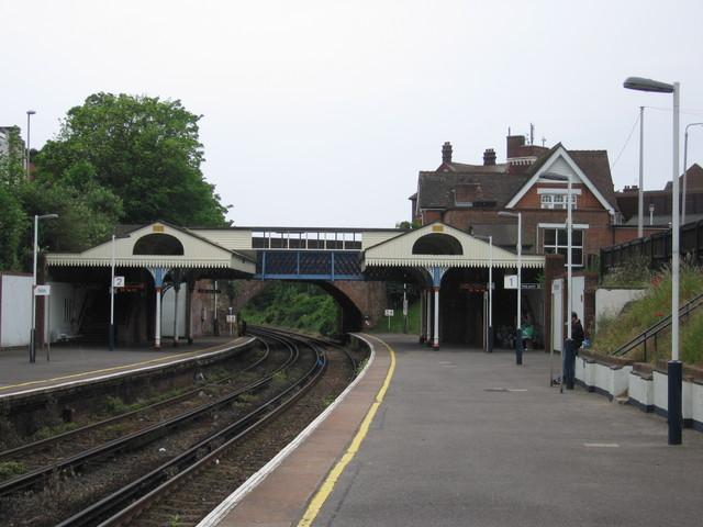 Branksome railway station